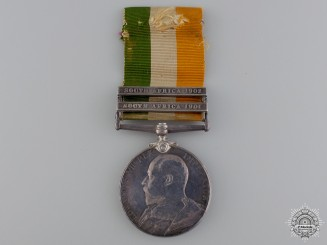 A King's South Africa Medal to the Queen's Regiment