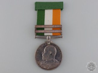 United Kingdom. A King's South Africa Medal, Royal Garrison Artillery