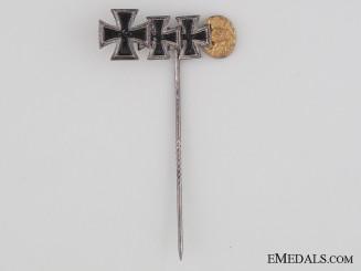 A Knight's Cross Miniature Stickpin