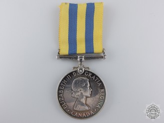 A Korea War Medal to the  Royal 22nd Regiment; KIA 1951