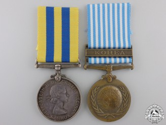 A Korea War Pair to the Royal Canadian Artillery