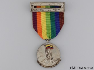 A Korean War Colombian Battalion of Infantry Medal
