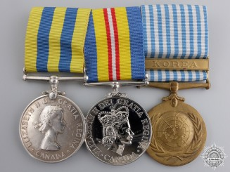 Canada, Commonwealth. A Korean War Medal Group to the Royal Canadian Navy