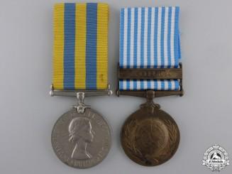 A Korean War Pair to the Royal Army Medical Corps