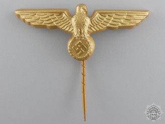 A Kreigsmarine Visor Eagle by Assmann