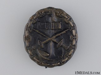 A Kreigsmarine Wound Badge