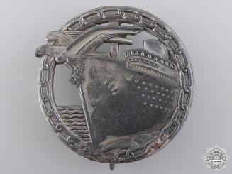A Kriegsmarine Blockade Runner Badge by Schwerin