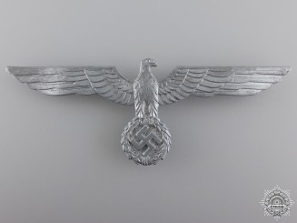 A Kriegsmarine Breast Eagle by Assmann