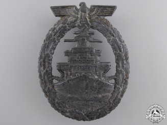 A Kriegsmarine High Seas Fleet Badge by Schwerin, Berlin