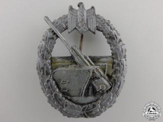 A Kriegsmarine Naval Artillery Badge