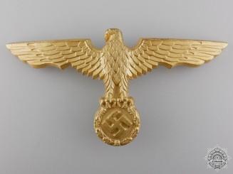 A Kriegsmarine Pith Helmet Eagle by Gustav Brehmer