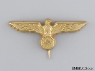 A Kriegsmarine Visor Eagle by Assmann