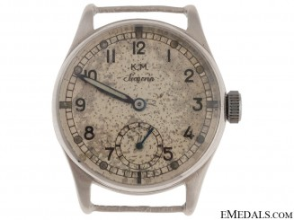A Kriegsmarine Watch - Named