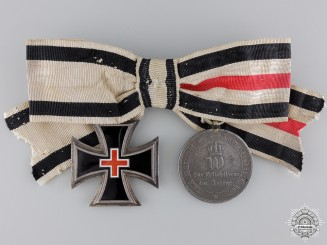 A Ladies Franco-Prussian War Medal Pair