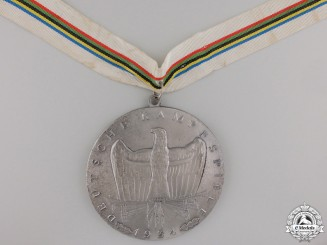 A Large 1934 German Sport Winner's Medal