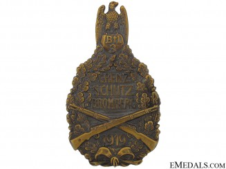 A Large Freikorps Badge 1919