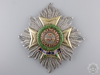 A Late Georgian Most Honourable Order of the Bath; G.C.B. (Military)