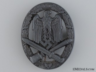 A Late War German General Assault Badge