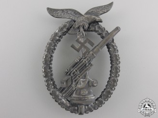 A Late War Luftwaffe Flak Badge