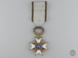 A Latvian Order of the Three Stars; Knight's Cross