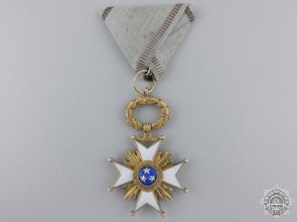 A Latvian Order of the Three Stars; Knight's Cross