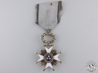 Latvia. An Order of the Three Stars, 5th Class Knight, c.1925