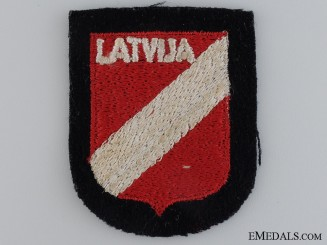 A Latvian SS Volunteer Sleeve Shield