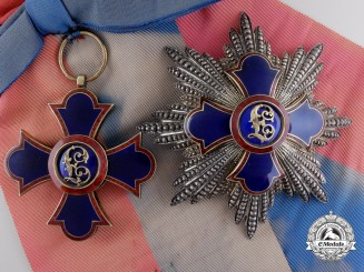 A Liechtenstein Order of Merit; Grand Cross