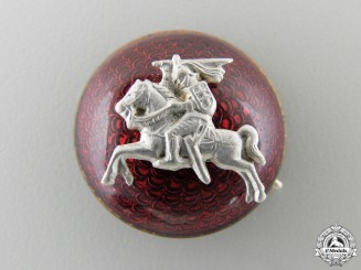 A Lithuanian Vytis Army Cap Badge