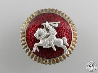 A Lithuanian Vytis Army Cap Badge