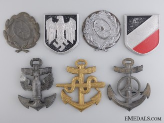 A Lot of German Badges & Insignia