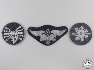 A Lot of Three Luftwaffe Trade Badges