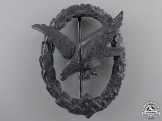 A Luftwaffe Air Gunner Badge by W. Deumer