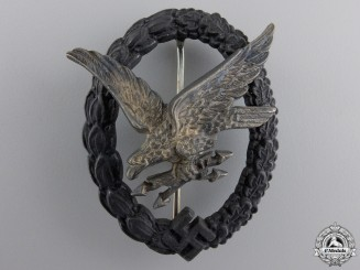 A Luftwaffe Air Radio Operator & Air Gunner Badge by Imme & Sohn