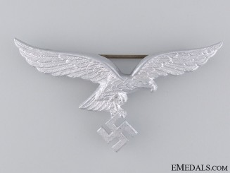 A Luftwaffe Eagle Cap Badge by F.W.Assmann
