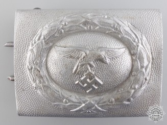 A Luftwaffe Enlisted Man's Belt Buckle; 1st Pattern