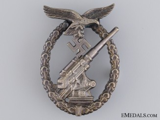 A Luftwaffe Flak Badge by Juncker