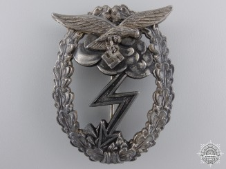 A Luftwaffe Ground Assault Badge, by G.H. Osang