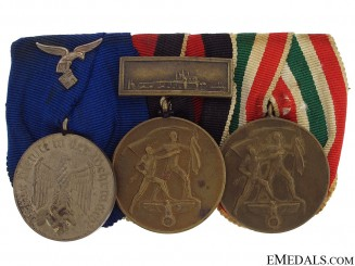 A Luftwaffe Long Service Medal Bar