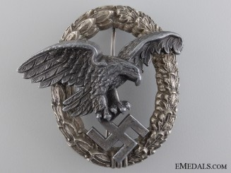 A Luftwaffe Observers Badge by P.Meybauer, Berlin