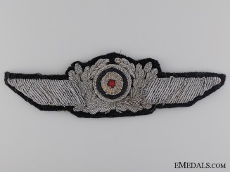 A Luftwaffe Officer Visor Wreath