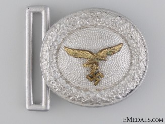 A Luftwaffe Officer's Belt Buckle by F.W. Assmann