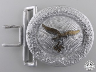 A Luftwaffe Officer's Belt Buckle