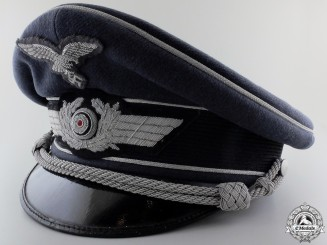 A Luftwaffe Officer's Visor