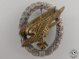A Luftwaffe Paratrooper Badge by Steinhauer & Lück