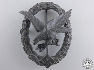 A Luftwaffe Radio Operator & Air Gunner Badge By W. Deumer