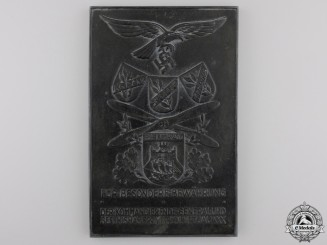 A Luftwaffe South Eastern Europe Air District Achievement Award