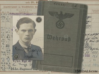 A Luftwaffe Wehrpass to Croatian & Hungarian Award Recipient