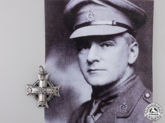 Canada. A Memorial Cross of Lieut. Colonel Seaborn, Author of The March of Medicine