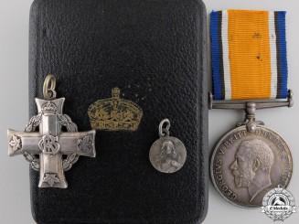 Canada, CEF. A Memorial Cross to the 78th Battalion, Vimy Ridge KIA